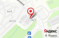 Схема проезда до компании Волтэд в Москве