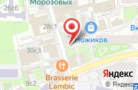 Схема проезда до компании Отдел Кадров в Москве