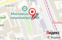 Схема проезда до компании Галерея Современного Шедевра в Москве