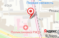 Схема проезда до компании Строй Проект групп в Москве