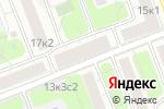 Схема проезда до компании Лига Текс в Москве