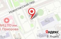 Схема проезда до компании Инвест в Москве