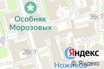 Схема проезда до компании Клаустрофобия в Москве