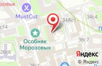 Схема проезда до компании Бюро Визуальных Коммуникаций в Москве