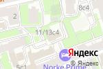 Схема проезда до компании Дуэт в Москве