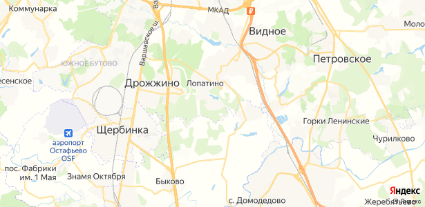 Суханово на карте