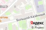 Схема проезда до компании Реамедика Групп в Москве