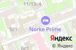 Схема проезда до компании 5 mg в Москве