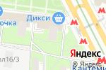 Схема проезда до компании Текстиль для дома в Москве