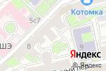 Схема проезда до компании Hairbeauty в Москве