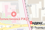 Схема проезда до компании Новая Басманная в Москве