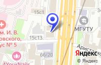 Схема проезда до компании НОТАРИУС САЛОМАТИНА О.Г. в Москве
