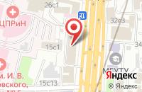 Схема проезда до компании Торговый Дом Межрегионтрейд в Москве