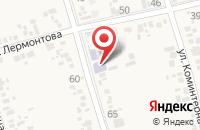 Схема проезда до компании Варениковский технический лицей в Варениковской