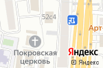 Схема проезда до компании Группа ПРСБ в Москве