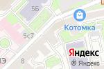 Схема проезда до компании Авалония в Москве