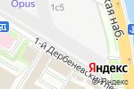 Схема проезда до компании Сайджел в Москве