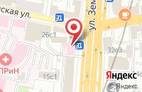 Схема проезда до компании Дэта Паблишинг в Москве