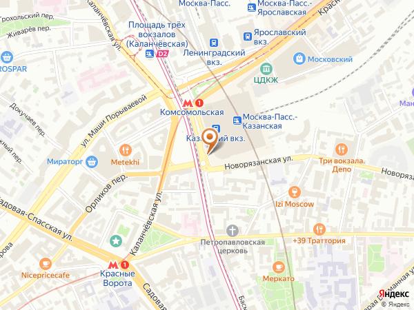 Остановка «Ф-ка Большевичка - Комсомольская пл.», Рязанский проезд (1009000) (Москва)