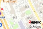 Схема проезда до компании Вип Хаус в Москве