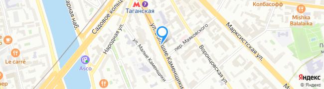 улица Большие Каменщики