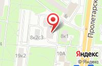 Схема проезда до компании Д и М в Москве