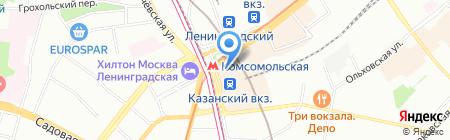 Банкомат АБ ИнтерПрогрессБанк на карте Москвы