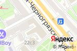 Схема проезда до компании Inspiration Studio в Москве
