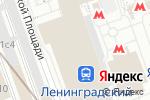 Схема проезда до компании Шоколадный рай в Москве