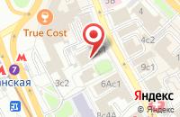 Схема проезда до компании Реклама Проджэкт в Москве