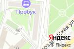 Схема проезда до компании Знак текс в Москве