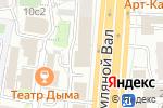 Схема проезда до компании Юнидент в Москве