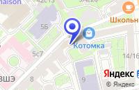 Схема проезда до компании КБ РУССКИЙ УНИВЕРСАЛЬНЫЙ БАНК в Москве