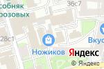 Схема проезда до компании На Подсосенском в Москве