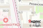 Схема проезда до компании У трех вокзалов в Москве