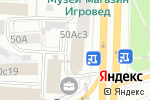 Схема проезда до компании Концерт в Москве