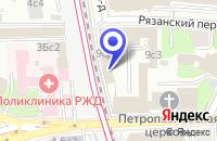 Схема проезда до компании ТРАНСПОРТНАЯ КОМПАНИЯ ОПОР-ЦЕНТР ТРАНС в Москве