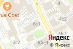 Схема проезда до компании Чёрная кошка в Москве