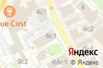 Схема проезда до компании PreoPrint в Москве