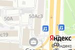Схема проезда до компании Банк ТГБ в Москве