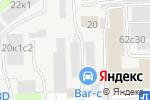 Схема проезда до компании Сто Колес в Москве