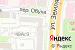 Схема проезда до компании Мастер мозаик в Москве