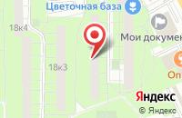 Схема проезда до компании Символ Траст в Москве