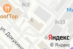Схема проезда до компании NextPrint в Москве