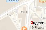 Схема проезда до компании Комильфо в Москве
