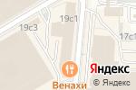 Схема проезда до компании БИЗОН плюс в Москве