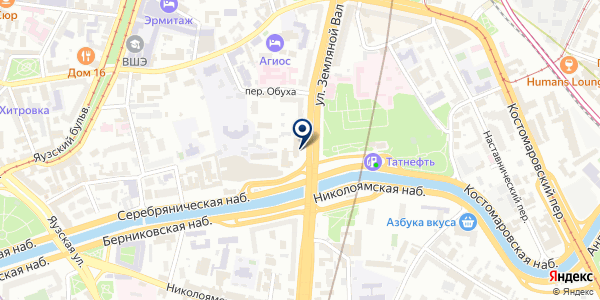 Формула Финансов на карте Москве