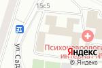 Схема проезда до компании Специальная Олимпиада России в Москве