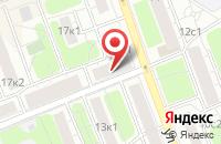 Схема проезда до компании Мпм-Строй в Москве