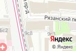 Схема проезда до компании Юрконсул в Москве
